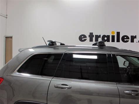 2003 Jeep Grand Roof Rack by Whispbar Through Bar Roof Rack Aluminum 2 Crossbars Whispbar Roof Rack Wb S17