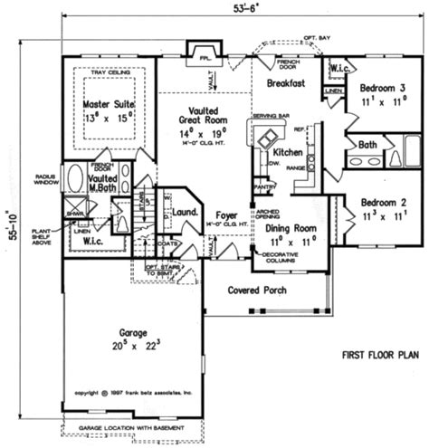 Frank Betz Floor Plans jasmine home plans and house plans by frank betz associates