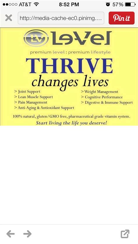202 best thrive images on pinterest thrive le vel 67 best le vel thrive images on pinterest thrive