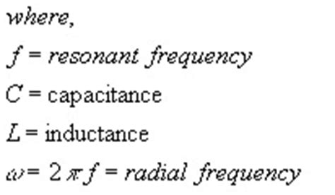 inductance henry definition lc resonant frequency