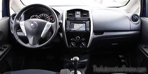 nissan versa 2016 interior 2016 nissan versa note review the automotive review