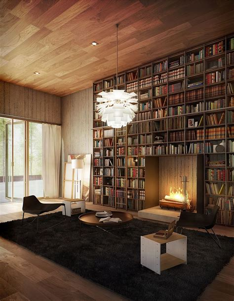novel room space saving book shelves and reading rooms
