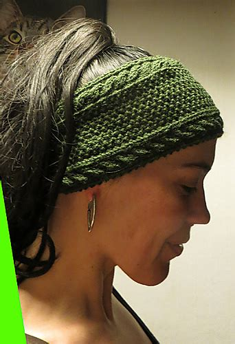 free pattern knitted headband headband and headwrap knitting patterns in the loop knitting