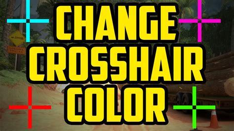 cs go crosshair color how to change crosshair color in cs go 2017 crosshair
