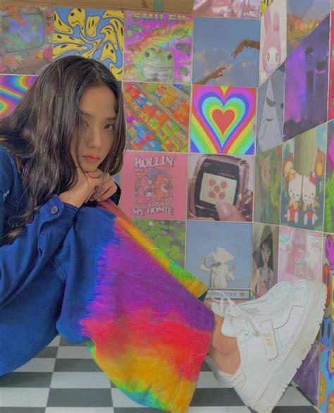 jisoo blackpink indie selebritas gaya rambut gadis