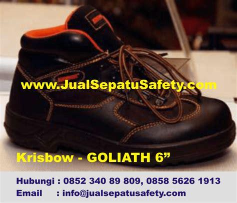 Sepatu Safety Merk Krisbow sepatu krisbow goliath 6 quot harga pabrik hp 0852 340 89 809