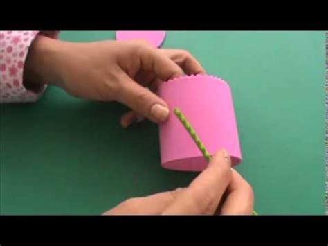 tarjetas en forma de taza manualidades reciclables dulcero posillo en goma eva fomi foami youtube