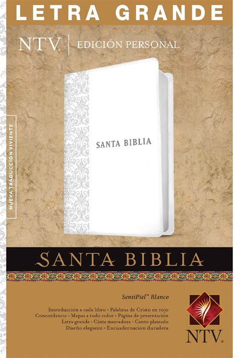 santa biblia ntv edicion santa biblia ntv edici 243 n personal letra grande holy