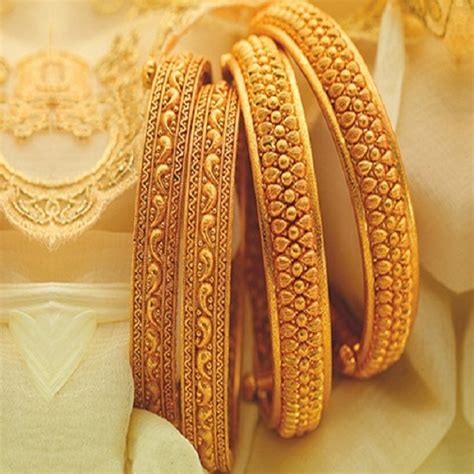 gold bangle designs   grams styles  life