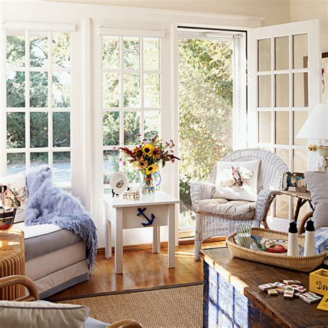 house beautiful cottage living magazine relaxing beach sunroom 20 beautiful beach cottages