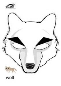 wolf mask template free and the wolf wolf mask musical drama
