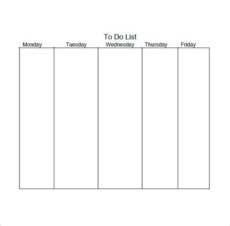 Daily List Template by Daily Task List Templates 8 Free Sle Exle