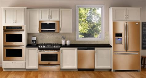 copper appliances update your kitchen stainless steel