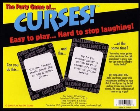 Can Someone Track A Gift Card - the board game family curses party game review the board game family