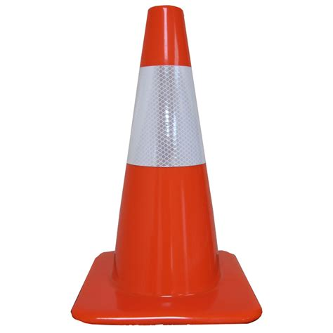 Khusus Gojek Traffic Cone Orange Rubber 70 Cm Scotlight shop work area protection orange traffic safety cone at lowes