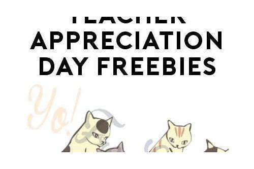 teacher appreciation day freebies 2018