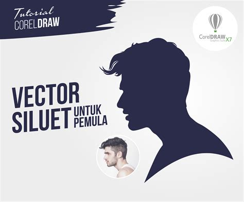 tutorial corel draw x7 español pengertian siluet bang abu design