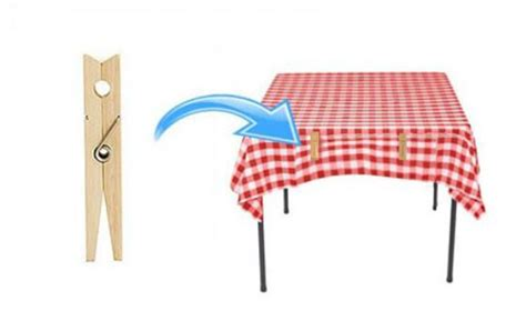 to hold tablecloth on table how to stop tablecloths from sliding and blowing in the