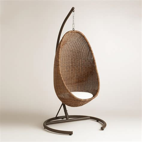 swinging egg chair hanging egg chair world market
