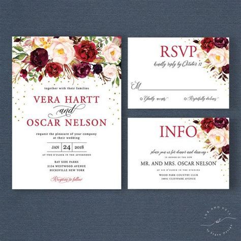 Digital Wedding Invitations The 25 Best Floral Wedding Invitations Ideas On Pinterest Wedding Invitations Floral