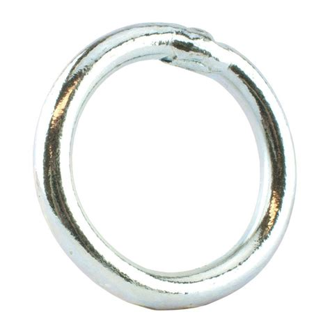 everbilt 3 8 in x 2 in zinc plated welded ring 42434