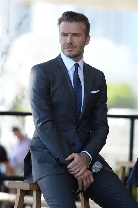 Beckham Launches Style Website by David Beckham Photos Photos David Beckham Launches Mls