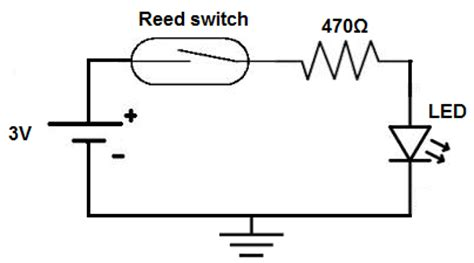 reed switch wiring diagram reed switch arduino wiring