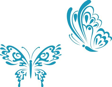 vector ornament butterfly guru corel