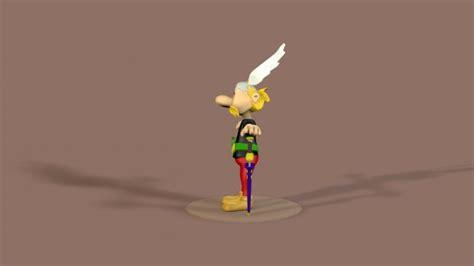 Asterix 3d Model asterix 3d model c4d
