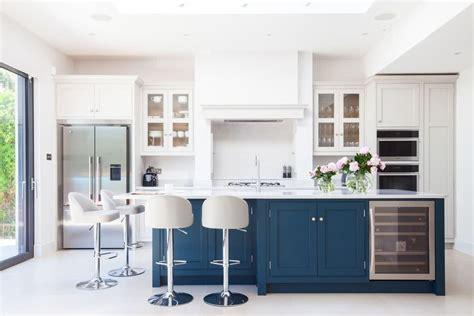 Navy Blue Kitchen Cabinets cozinha azul 70 inspira 231 245 es de decora 231 227 o com a cor