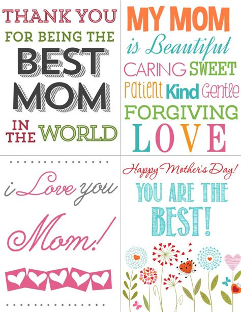 printable cards mothers day free printables for kids free mother 226 s day cards