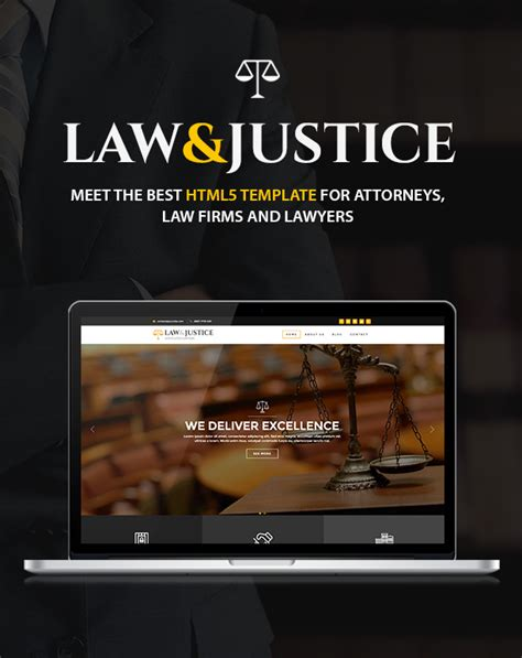 free bootstrap templates for lawyers law justice attorney lawyer html5 template by themebear