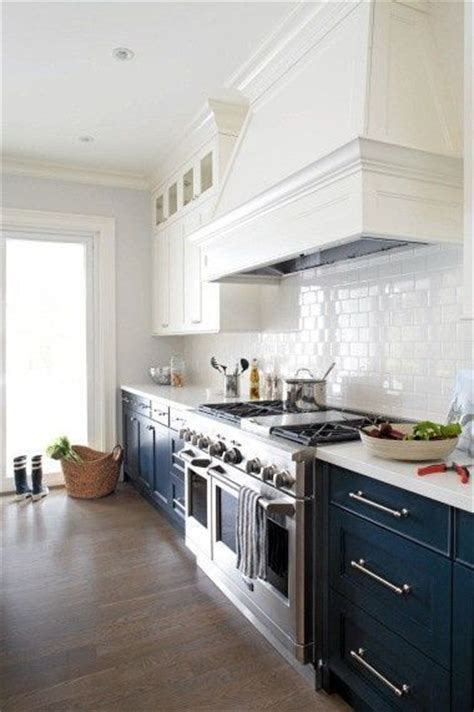 Navy And White Kitchen by Navy And White Kitchen For Mi Casa