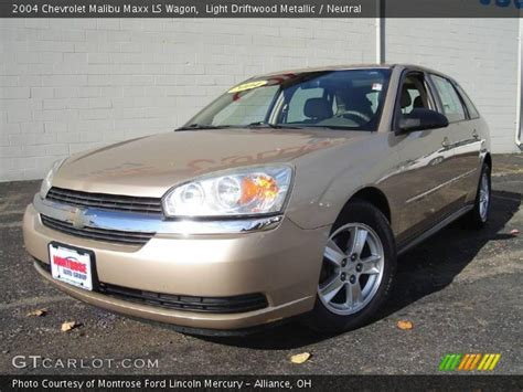 driftwood ls for sale light driftwood metallic 2004 chevrolet malibu maxx ls