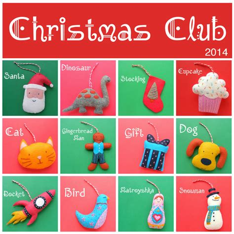 2014 christmas club collection from shiny happy world