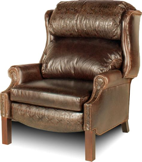 Xl Recliners by Wingback Xl Leather Recliner Leather Creations