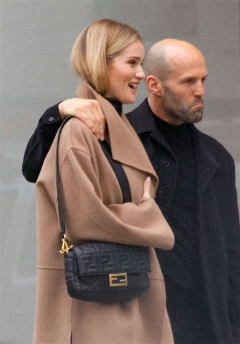 rosie huntington whiteley london rosie huntington whiteley and jason statham out in