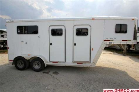 Fashion Duxie 7021 used 2 exiss trailer with living quarters dixie mule co