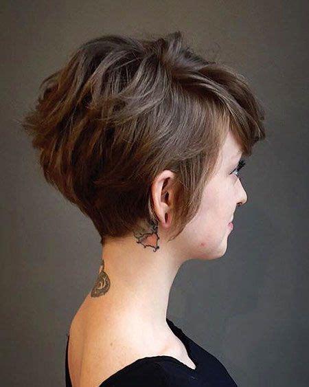 short brown hairstyles  fizz short