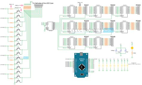 8x8x8 led cube source code wiring diagrams repair wiring