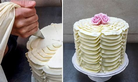 buttercream piping 101 decorating tips designs best 20 buttercream ruffle cake ideas on ruffle cake ruffle cake tutorial and