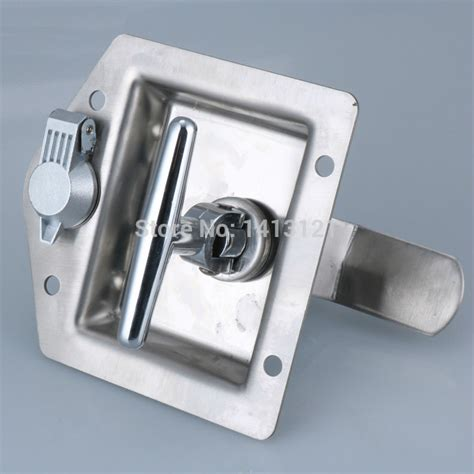 Electric Door Knob by Free Shipping Metal Hasp Butterfly Lock Air Box Buckle