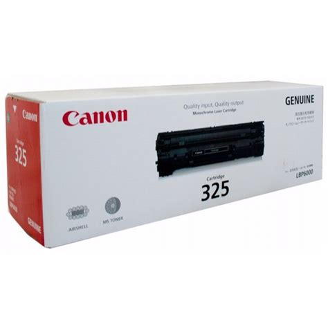 original canon cart325 black toner cartridge cart 325
