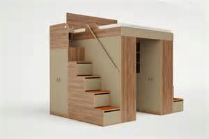 One Room Cabin Floor Plans Urbano King Loft Bed Casa Collection