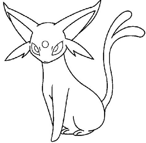 pokemon coloring pages espeon coloring contest espeon virtuadopt