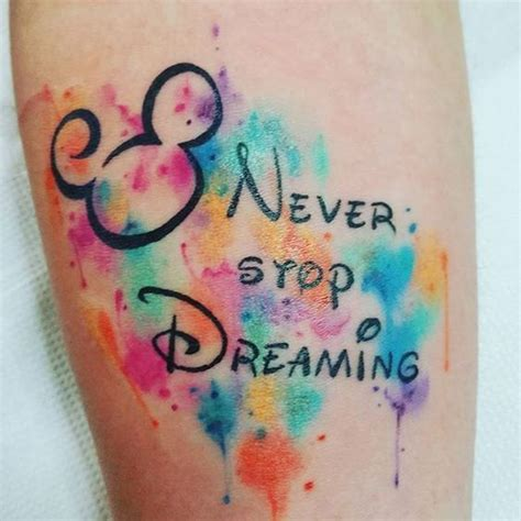 tattoo new school disney 22 adorable colorful and black ink disney tattoos