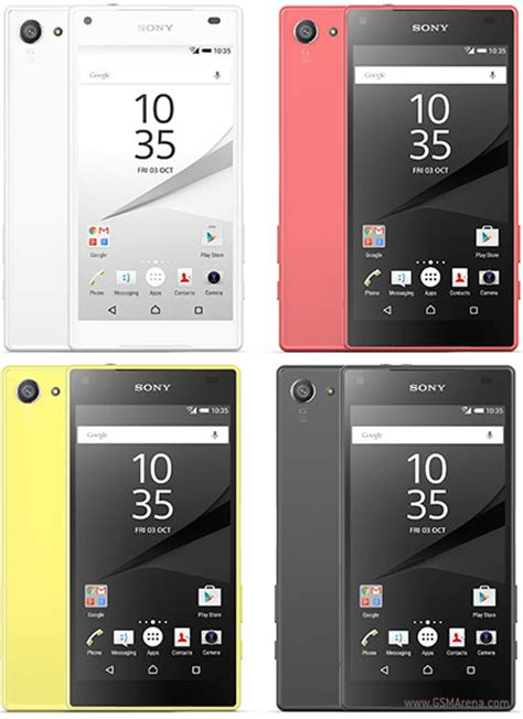 Hp Android Sony Xperia Z5 sony xperia z5 compact pictures official photos