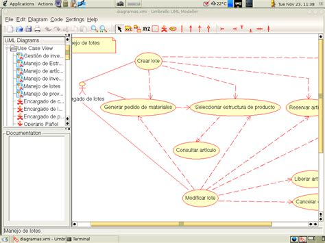 use diagrams umbrello project umbrello screenshots
