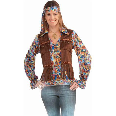 photos from the 70s funky 60 s 70 s hippie multicoloured shirt vest and