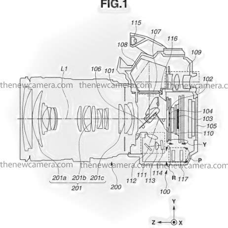 canon patent dslrs with in body image stabilization